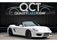 2010 '60' Porsche Boxster S 3.4 Manual GEN 2 * Carrera White + Heated Seats
