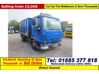 2005 - 55 - IVECO 75E17 4X2 HIGH SIDE TIPPER (GUIDE PRICE)