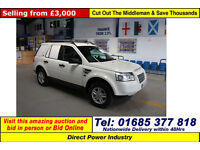 2007 - 57 - LAND ROVER FREELANDER S T4D 4X4 (GUIDE PRICE)
