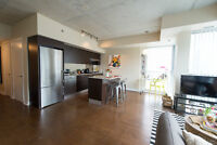 Beautifully furnished 1-bedroom condo in the heart of the city