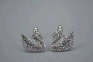 Swarovski Swan Pierced Earrings Beaumont Hills The Hills District Preview