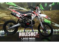 HMX 140CC MANUAL MOTOCROSS PITBIKE. BIG WHEEL, YOUTH / ADULT *6 MONTH WARRANTY
