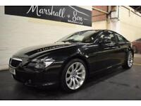 2006 56 BMW 6 SERIES 3.0 630I SPORT 2D AUTO 255 BHP
