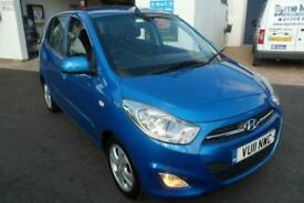 2011 Hyundai i10 1.2 Active 5dr HATCHBACK Petrol Manual