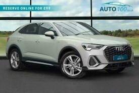 image for 2020 Audi Q3 1.5 TFSI CoD 35 S line Sportback S Tronic (s/s) 5dr