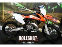 2016 KTM SX 125 MOTOCROSS BIKE VHM HEAD, NEKEN BARS, NEW GRIPS
