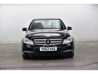 2012 Mercedes-Benz C Class C220 CDI BLUEEFFICIENCY EXECUTIVE SE Diesel black Aut