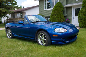Supercharged 1999 Mazda Miata 10th Anniversary Limited Edition
