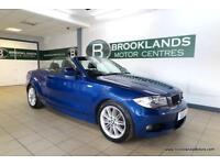 BMW 1 SERIES 118d M Sport (LEATHER and 6X BMW STAMPS)