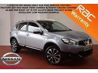 2011 Nissan Qashqai 1.5dCi 2WD N-TEC-F.S.H.-PAN ROOF-SAT NAV-B.TOOTH-F/S/H-