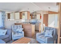 Static caravan for sale at Billing Aquadrome, cheap finance available, call Rory