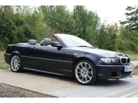 2005 BMW 318Ci 2.0 M Sport MANUAL, CONVERTIBLE, FSH, TOP OF THE RANGE, LOW MILES