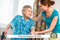 Become a Certified Personal Support Worker (PSW) in 5 months