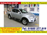 2011 - 61 - MITSUBISHI L200 WARRIOR 2.5DI-D 176 BHP 4X4 DOUBLE CAB PICK UP