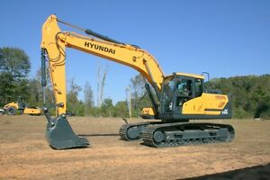 New Hyundai Excavators, Wheel Loaders & Compactors