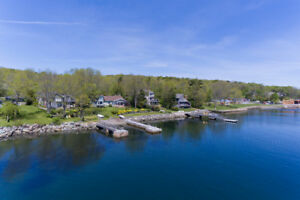 177 Shore Drive Bedford Spectacular Waterfront Home