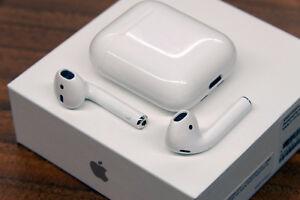 Apple AirPods wireless ear bud headphones