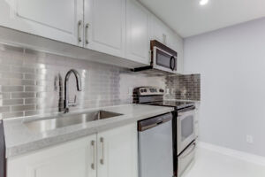 Be the first! Newly renovated 1 bd + den bsmt  @ Yonge & Finch