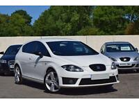 SEAT LEON FR 2.0 TDI [170] DIESEL MANUAL 5DR HATCHBACK 2011 [11] WHITE