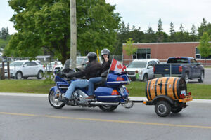 2001 GOLD WING GL 1800 WITH WINE BARREL TRAILER