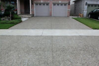 Concrete Patios, Driveways, Walkways and More!