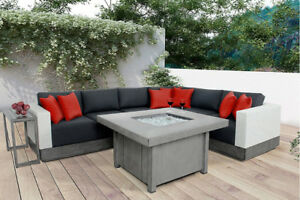 Aluminum Gas Firepit Tables ON SALE!