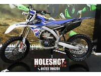 2014 YAMAHA YZF 450 MOTOCROSS BIKE APICO FLEXI LEVER, NEW GRIPS