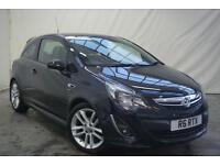 2014 Vauxhall Corsa SRI Petrol black Manual