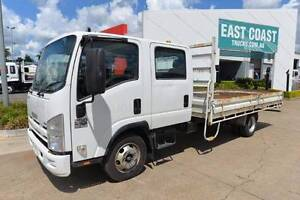 ISUZU NPR 250 ** DUALCAB ** TRAY DROPSIDE ** #5027 Archerfield Brisbane South West Preview