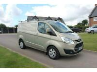 2013 Ford Transit Custom 2.2 TDCi 125ps Low Roof Limited Van,NO VAT,LONG MOT,FSH