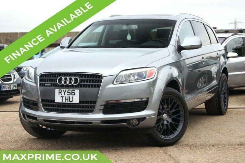 audi q7 4 2 v8 fsi tiptronic quattro s line 7 seater left hand drive in hook hampshire. Black Bedroom Furniture Sets. Home Design Ideas