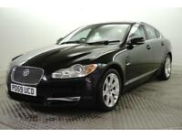 2009 Jaguar XF V6 LUXURY Diesel black Automatic