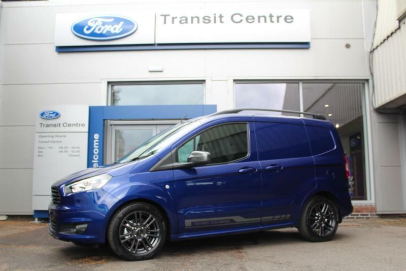 New Ford Transit Courier Sport 1 5 95ps In Blue