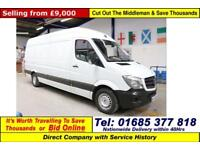 2014 - 14 - MERCEDES SPRINTER 313 2.2CDI LWB VAN (GUIDE PRICE)