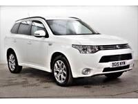 2015 Mitsubishi Outlander PHEV GX 4H PETROL/ELECTRIC white Semi Auto