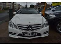 BAD CREDIT CAR FINANCE AVAILABLE 2012 62 MERCEDES E220 CDi CONVERTIBLE SPORT