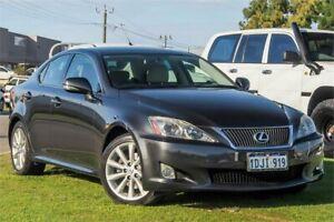 2010 Lexus IS GSE20R MY11 IS250 Prestige Grey 6 Speed Sports Automatic Sedan Wangara Wanneroo Area Preview