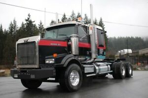 2003 Western Star 4900, Chalmers Susp, N14, 18 Spd with 2 Spd Au