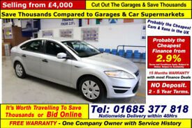 2012 - 12 - FORD MONDEO EDGE ECONETIC 1.6TDCI 5 DOOR HATCHBACK (GUIDE PRICE)