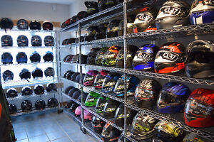 MOTORCYCLE RIDING HELMETS IN STOCK NOW AT HALIFAX MOTORSPORTS!