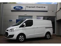 NEW Ford Transit Custom 2.0TDCi 170PS 290 L1H1 Limited in White+ 230V - Onsite