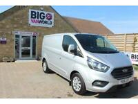 22931b2522 2018 FORD TRANSIT CUSTOM 280 TDCI 130 L1 H1 LIMITED SWB LOW ROOF VAN SWB  DIESEL