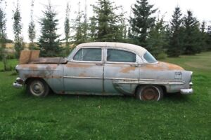 1954 chevy belaire great parts car
