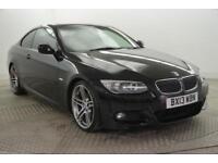2013 BMW 3 Series 325D M SPORT Diesel black Automatic