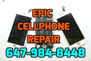 CELLPHONE TABLET SALES REPAIR UNLOCKING Services - iPhone 5s 6 6plus 6s 6splus 7 7plus 8 8 plus X Samsung LG HTC
