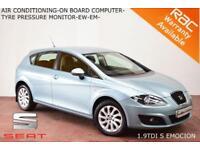 2010 Seat Leon 1.9TDI S Emocion-A/C-CD/MP3/USB/AUX-SERVICE HISTORY-