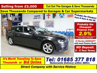 2012 - 62 - AUDI A4 AVANT TECHNIK 2.0 TDI 5 DOOR ESTATE (GUIDE PRICE)