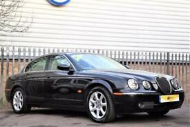 2005 Jaguar S-Type 2.7 D V6 SE 4dr Diesel black Automatic