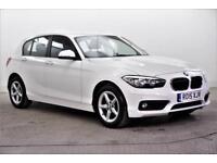 2015 BMW 1 Series 118D SE Diesel white Automatic