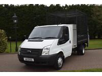 Ford Transit Tipper T350 2.2 tdci with 500kg tail lift and Tool box